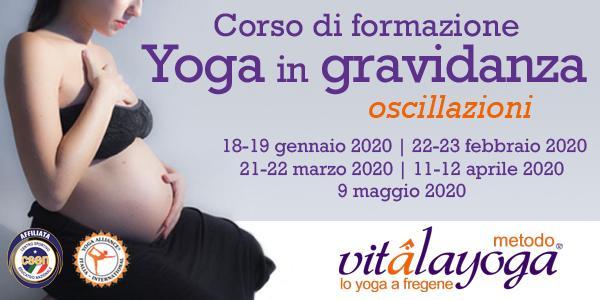 Corso di formazione Yoga in gravidanza Oscillazioni 85 hr