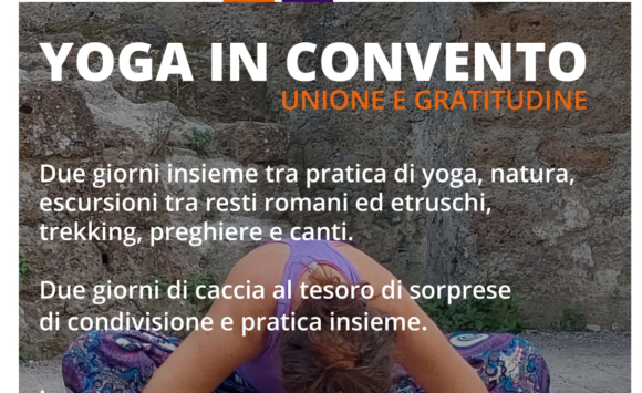 Yoga in Convento (unione e gratitudine)